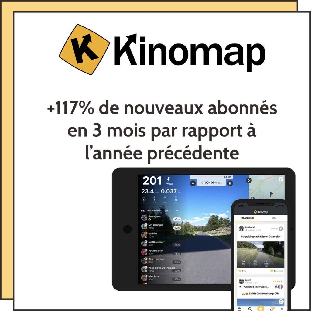 générer pour d'abonnés pour Kinomap