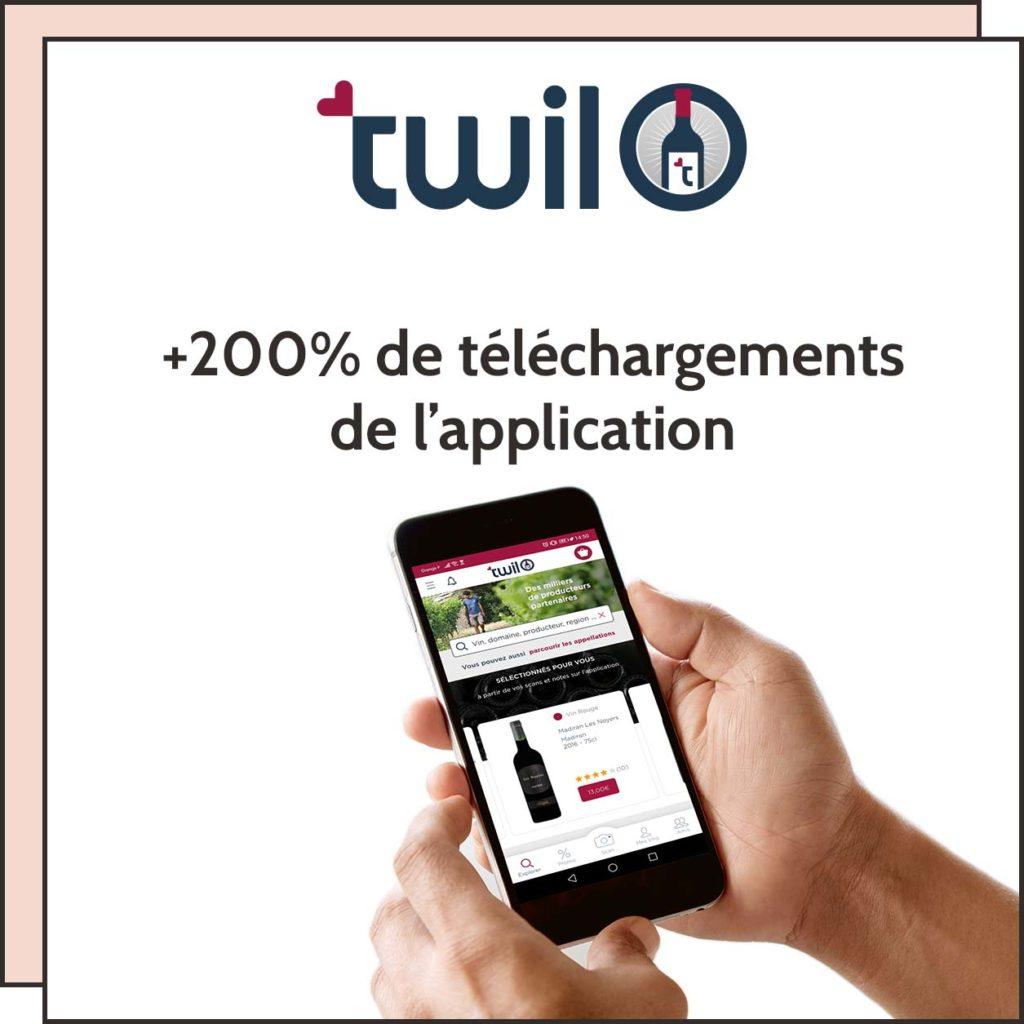 téléchargement d'application pour Twil
